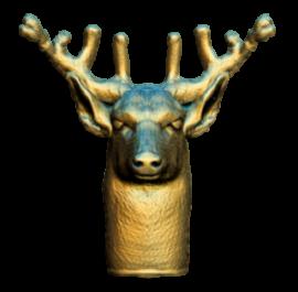 geyik 3d model